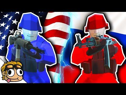 WORLD WAR 2 BATTLE w/ TEAM SPECIFIC LOADOUTS! | Ravenfield WW2 Mods