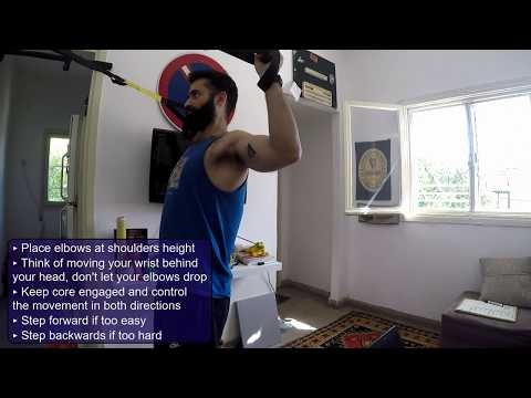 PalgiTraining - TRX Shoulder External Rotation