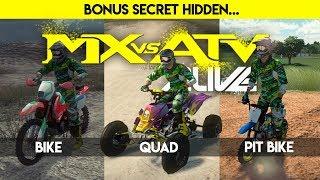 MX Vs ATV Alive   The Hidden BikeQuad50cc In Free Riding!