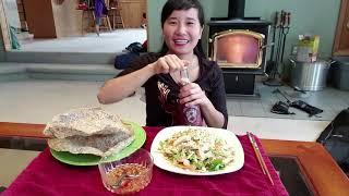 Làm và ăn gỏi tôm mực thái lan😋😋 Washington
