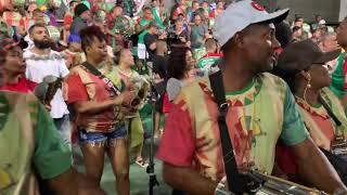 GRANDE RIO 2020: BATERIA NO ENSAIO DE QUADRA