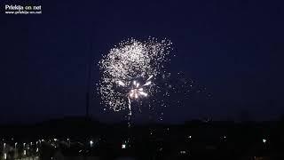 Predstavitveni ognjemet pred Jagrom v Ljutomeru