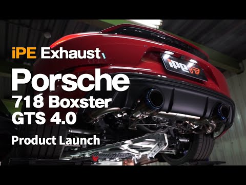 2021 Porsche 718 Boxster GTS 4.0 (OPF)/ iPE Exhaust Valvetronic, Acceleration, Flyby