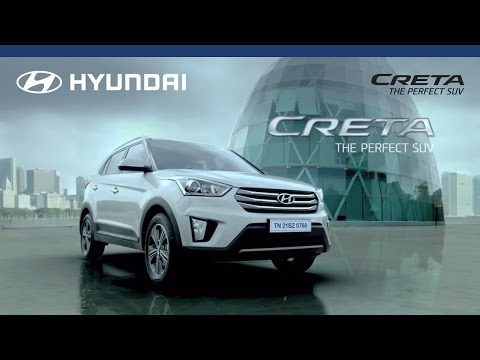 Get set to drive the future. Drive the all-new Hyundai CRETA. #ThePerfectSUV
