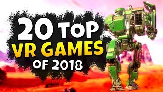 20 BEST VR GAMES OF 2018 - Oculus Rift, PSVR & HTC Vive Must-Haves