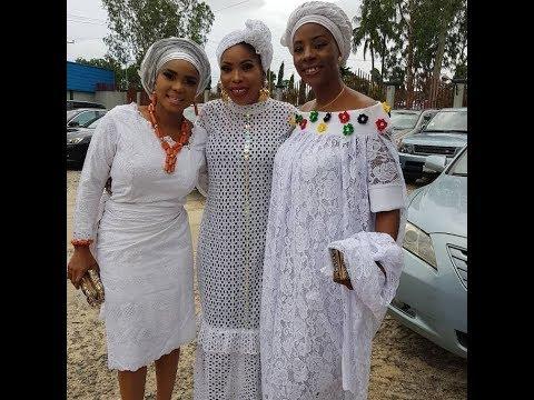 Bukola Adeeyo,Pusuma,Iyabo Ojo,Antar Laniyan,Eniola Badmus At Tayo Sobola's Mum Burial
