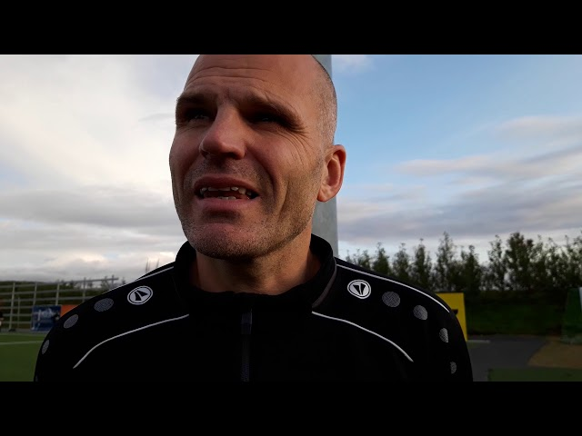 Arnar Hallsson: Frammistaðan til skammar fyrir minn hóp