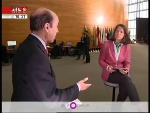 """Entrevista a Carlos Coelho - Programa """"Europeus"""" SICNotícias"""