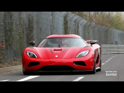 Koenigsegg Agera R on the Nurburgring