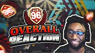 96 OVERALL REACTION, TWO RUFFLES WINNERS TRIED TO DO THIS!? NEVER BUYING VC AGAIN NBA 2K19