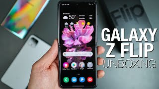 Samsung Galaxy Z Flip: Unboxing and Tour!