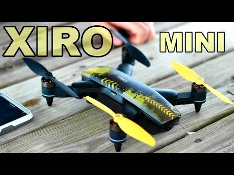 Xiro Xplorer Mini Beginner Selfie Camera Drone First Flight Tips - TheRcSaylors