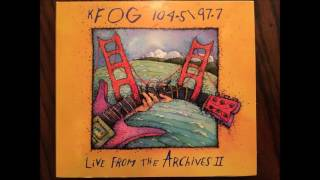 KFOG Live From the Archives Volume 2 Sonia Dada   Planes & Satellites 1995