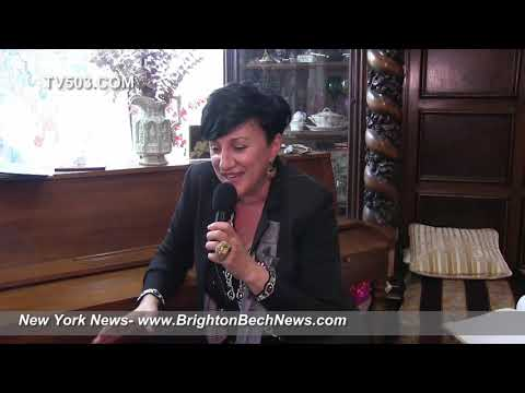 Певица Нуца  NUTSA SHANSHIASHVILI. Интервью в Нью-Йорке октябрь 2018