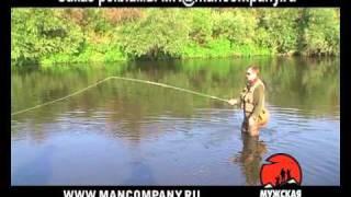 Снасти для любительской ловли рыбы нахлыстом