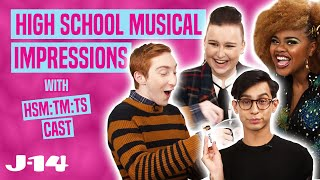 High School Musical The Series Cast Does Impressions