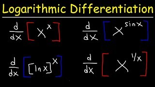 Introduction to Logarithmic Differentiation