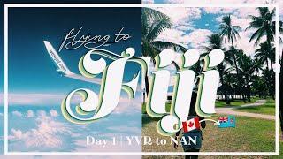 Fiji 2019 Day 1: Flying to Fiji✈️🌺🇫🇯 | VLOG