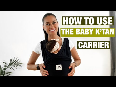 Baby K'tan Original Baby Carrier - Black
