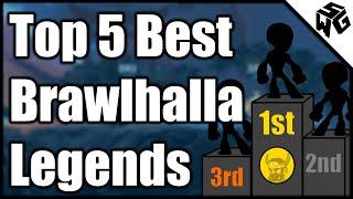 Top 5 Best Brawlhalla Legends!