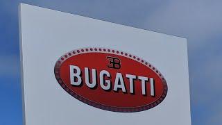 BUGATTI DISPLAY PEBBLE BEACH CONCOURSE D' ELEGANCE 2019