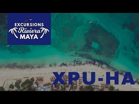 Excursions Riviera Maya | Playa Xpu-Ha | Drone 4K