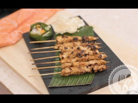 Video Resep Satai (Sate) Ayam Bumbu Rujak