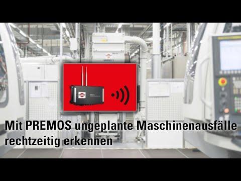 Sicherung der Anlagenverfügbarkeit durch Predictive Monitoring Service PREMOS