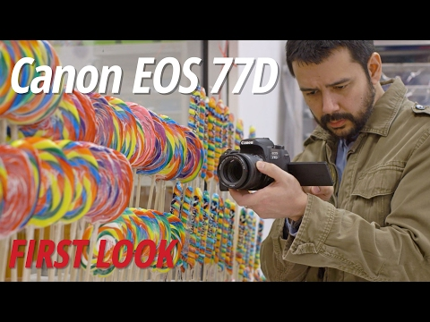 First Look: Canon EOS 77D