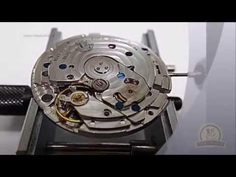 Разборка швейцарских часов Ulysse Nardin.