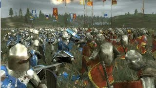Medieval 2 Total War Epic Battle: France Vs England - Machinima By Magister