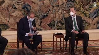 Audiencia de S.M. el Rey al Consejo de Administración de Hispasat, operador español de satélites de comunicaciones