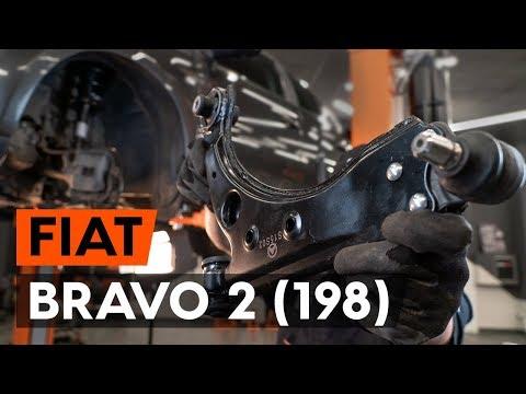 Come sostituire braccio oscillante anteriore su FIAT BRAVO 2 (198) [AUTODOC]