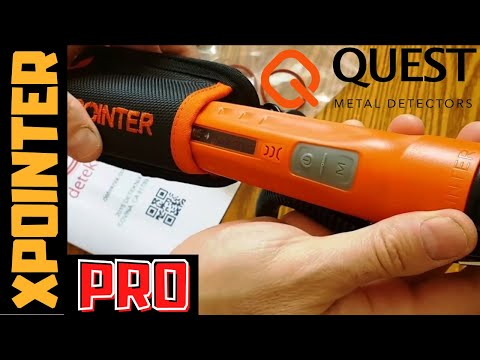 Quest XPointer Pro Waterproof Pinpointer | Kellyco | 855-910-6955