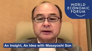 An Insight, An Idea with Masayoshi Son | DAVOS AGENDA 2021