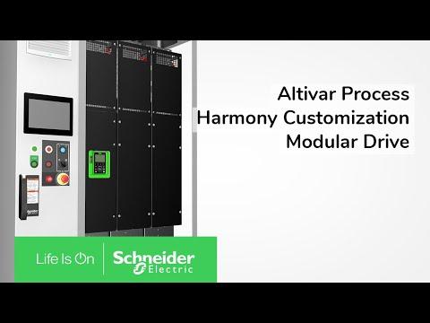 Altivar Process Modular & Harmony Customization: The Winning Combination