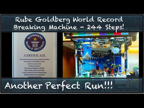 Rube Goldberg Machine Also Simulates Entirety Of History
