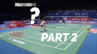 Ginting vs. Momota - Offense vs. Defense? Badminton Singles Strategy Explained (Part 2)