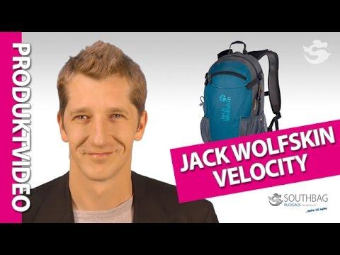 Jack Wolfskin Fahrradrucksack Velocity - Produktvideo