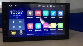 Zeepin 2 Din Car Radio Player 7003 7 '' Navigation GPS Bluetooth Android 6.0