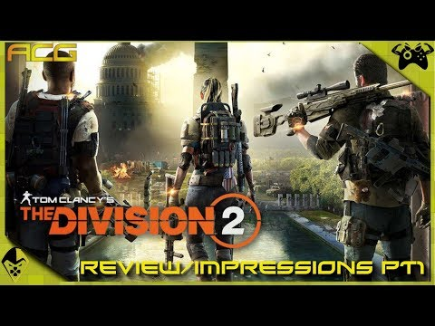 Tom Clancy's The Division 2 Review in Progress 1st Impressions - YouTube video thumbnail