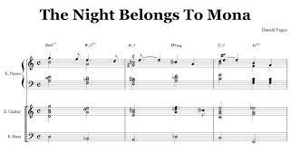 The Night Belongs To Mona / Donald Fagen Chords