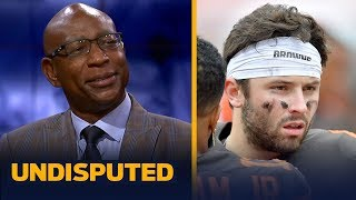 Eric Dickerson expects struggles to continue for Baker, Browns against Rams   NFL   UNDISPUTED