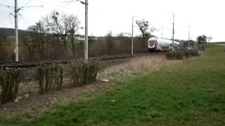 preview picture of video 'CFL 4003 with RE train from Trier to Luxembourg'