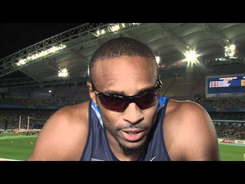 From The Daegu 2011 Mixed Zone: Angelo Taylor USA