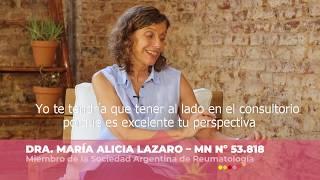 Dra. María Alicia Lazaro y Blanca Mesistrano | Fibromialgia