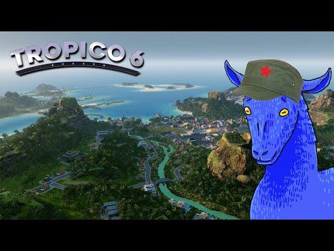 Establishing Full Communism in Tropico 6