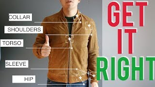 Bomber Jacket Fit Guide -The Correct Way To Wear It