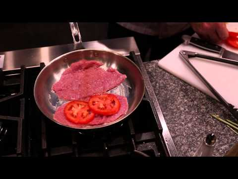 Video Oven-Baked Veal Scallopini : Italian Recipes
