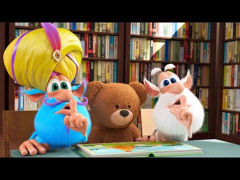 Booba 📚 Kütüphanede Sessizlik! 📙 Bölüm 77 - Çocuklar için komik karikatürler - BOOBA ToonsTV